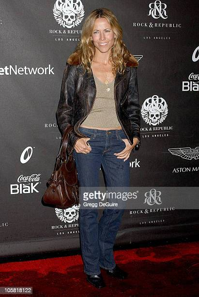 Sheryl Crow during Rock Republic's Fall 2006 Exhibition of Fashion Begins the New Era Arrivals at Sony Studios in Culver City California United States