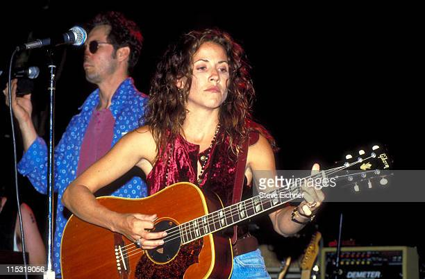 Sheryl Crow during Sheryl Crow in Concert at Irving Plaza 1993 at Irving Plaza in New York City New York United States
