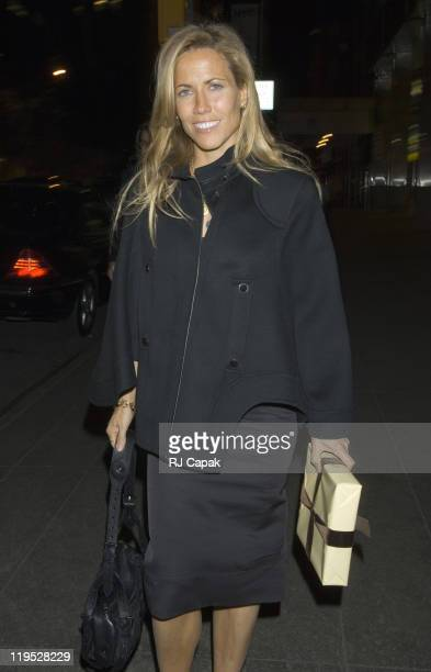 Sheryl Crow during Sheryl Crow Sighting in New York City at Streets of Manhattan in New York City NY United States