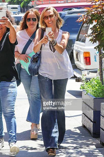 Sheryl Crow is seen on June 07 2016 in New York City