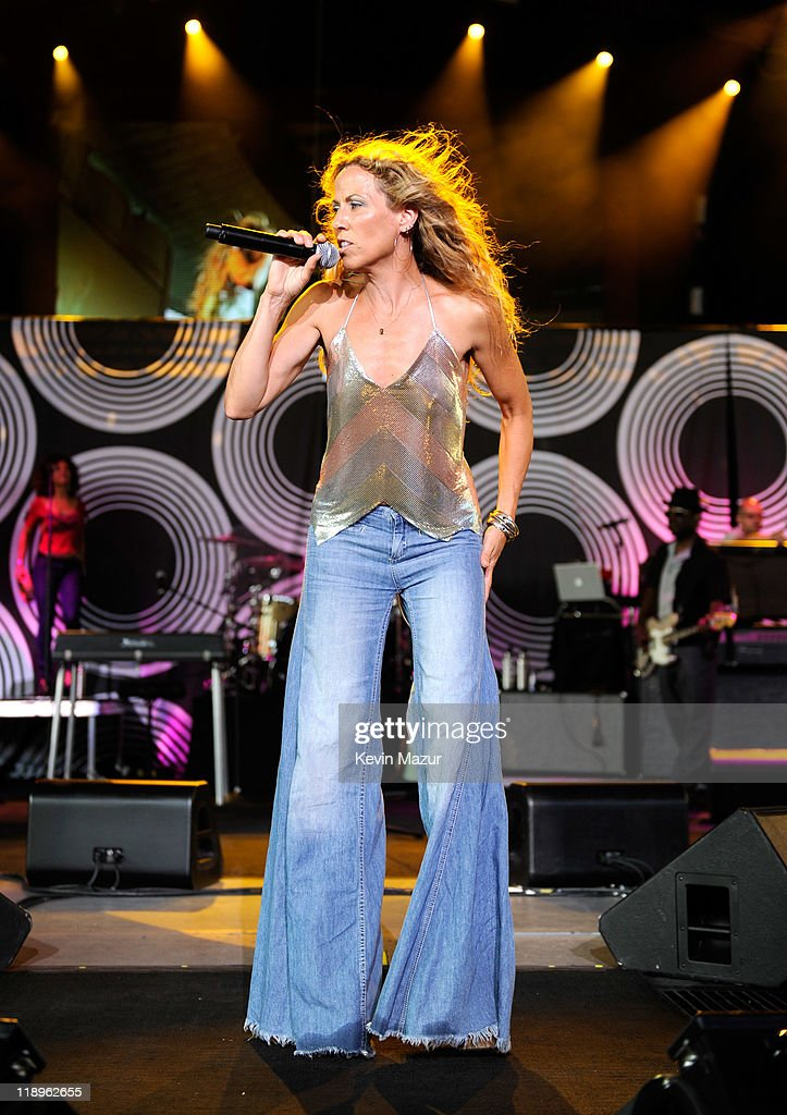 Sheryl Crow performs at PNC Bank Arts Center on July 12, 2011 in Holmdel, New Jersey.
