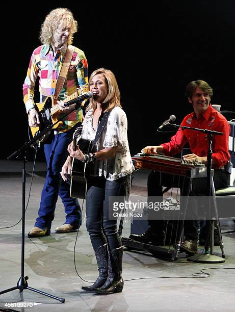 Sheryl Crow performs at Royal Albert Hall on October 31 2014 in London England