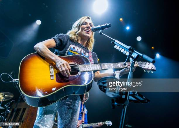 Sheryl Crow performs during The 2017 Outlaw Festival at Joe Louis Arena on July 8 2017 in Detroit Michigan