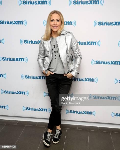 Sheryl Crow visits at SiriusXM Studios on April 18 2017 in New York City