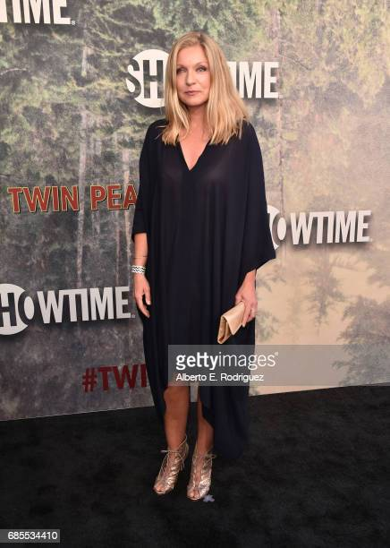 Sheryl Lee attends the premiere of Showtime's 'Twin Peaks' at The Theatre at Ace Hotel on May 19 2017 in Los Angeles California