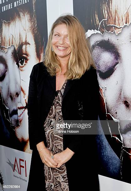 Sheryl Lee attends the 'Twin Peaks' BluRay/DVD release party and screening at the Vista Theatre on July 16 2014 in Los Angeles California