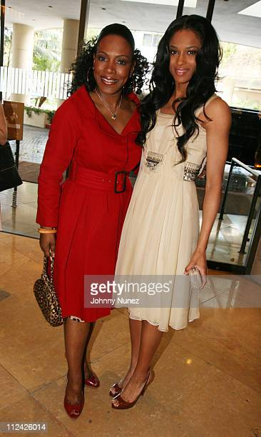 Sheryl Lee Ralph and Ciara during The 49th Annual GRAMMY Awards Mercedes Benz Presents The AEC 5th Annual Artist Celebration Luncheon Honoring 49th...