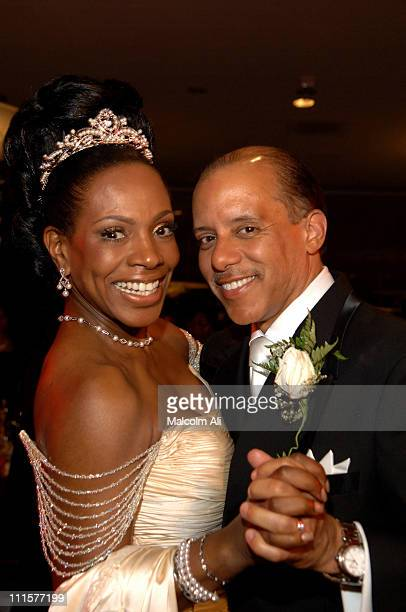 Sheryl Lee Ralph and Senator Vincent Hughes during The Marriage Ceremony Uniting Ms Sheryl Lee Ralph and The Hon Senator Vincent Hughes at First AME...