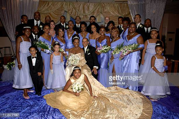 Sheryl Lee Ralph and Senator Vincent Hughes with the wedding party