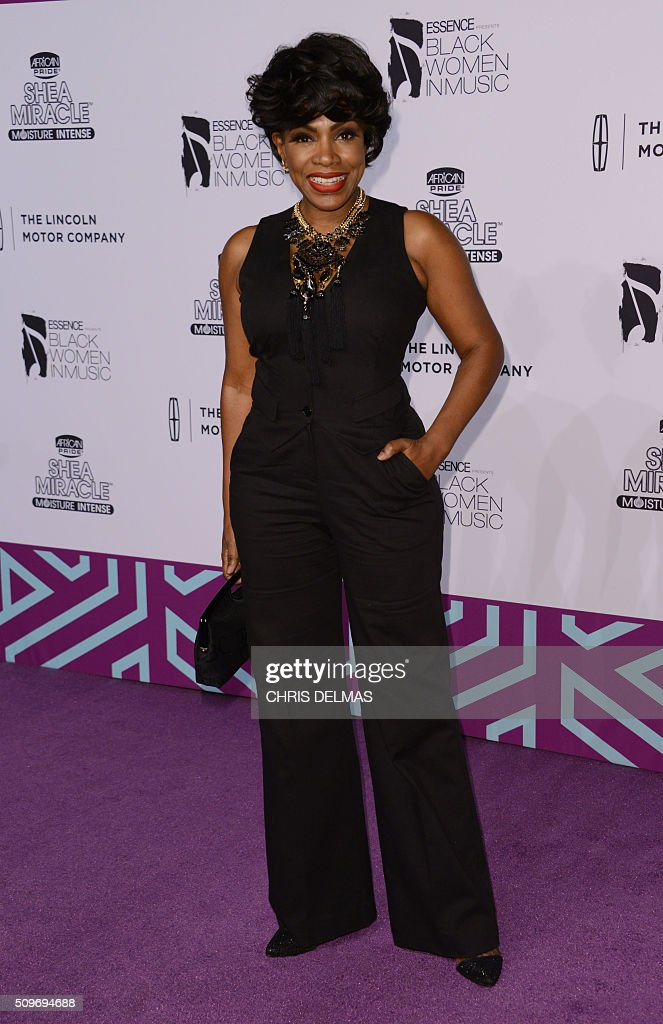 Sheryl Lee Ralph arrives at the 7th Annual Black Women In Music Concert, an Essence Kicks Off Grammy Week-end event, in Hollywood, California, February 11, 2016 / AFP / CHRIS DELMAS