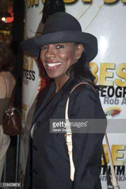 Sheryl Lee Ralph during Sheryl Lee Ralph Exits the Marriott Marquis After 'Thoroughly Modern Millie' September 9 2002 at Marriott Marquis Hotel in...