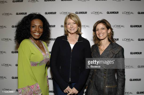 Sheryl Lee Ralph Martha Stewart and Glamour EditorinChief Cindi Leive