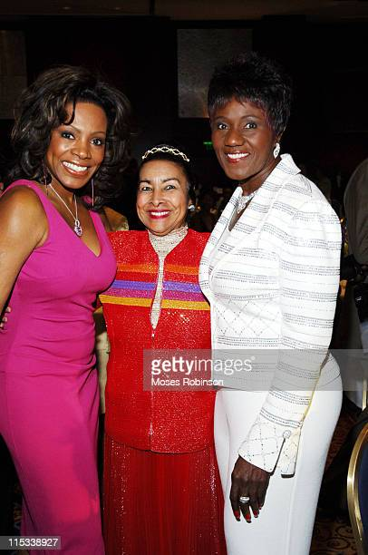 Sheryl Lee Ralph Xernona Clayton and Judge Mablean Ephriam