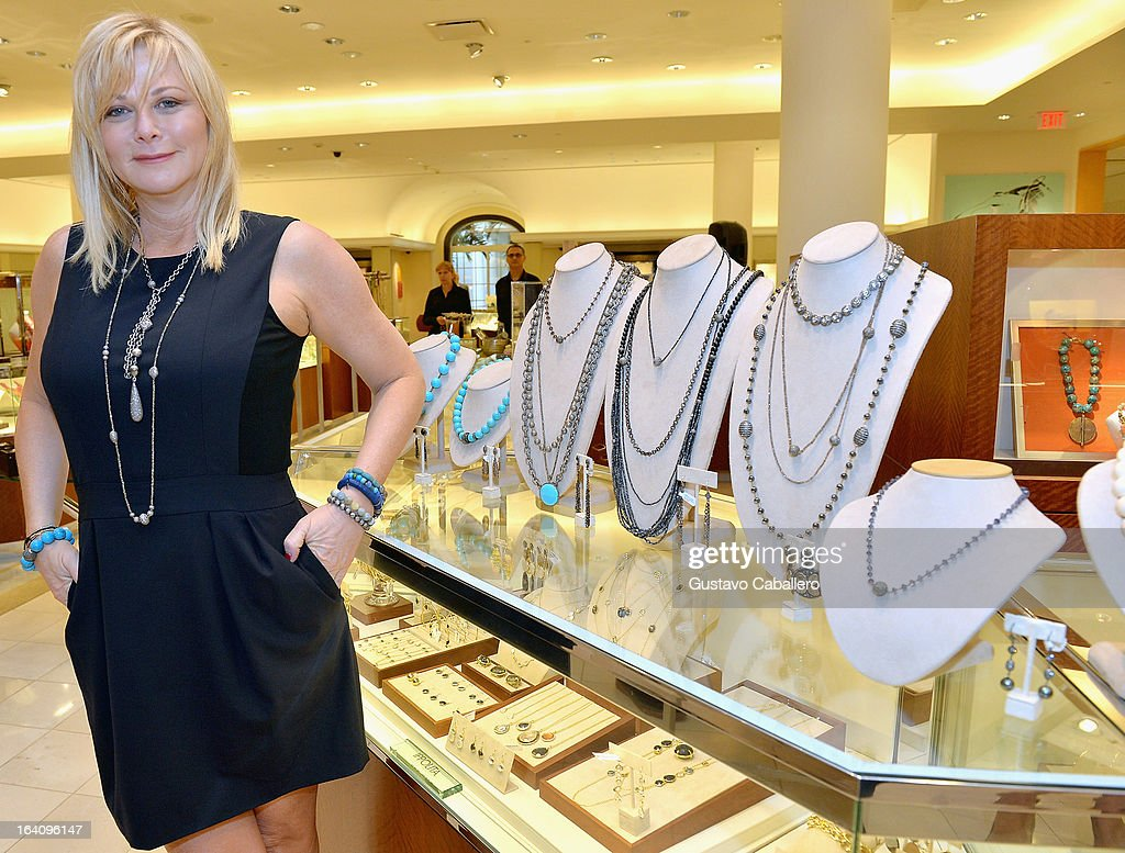 Sheryl Lowe attends the Sheryl Lowe Jewelry Design event at Neiman Marcus on March 19, 2013 in Coral Gables, Florida.