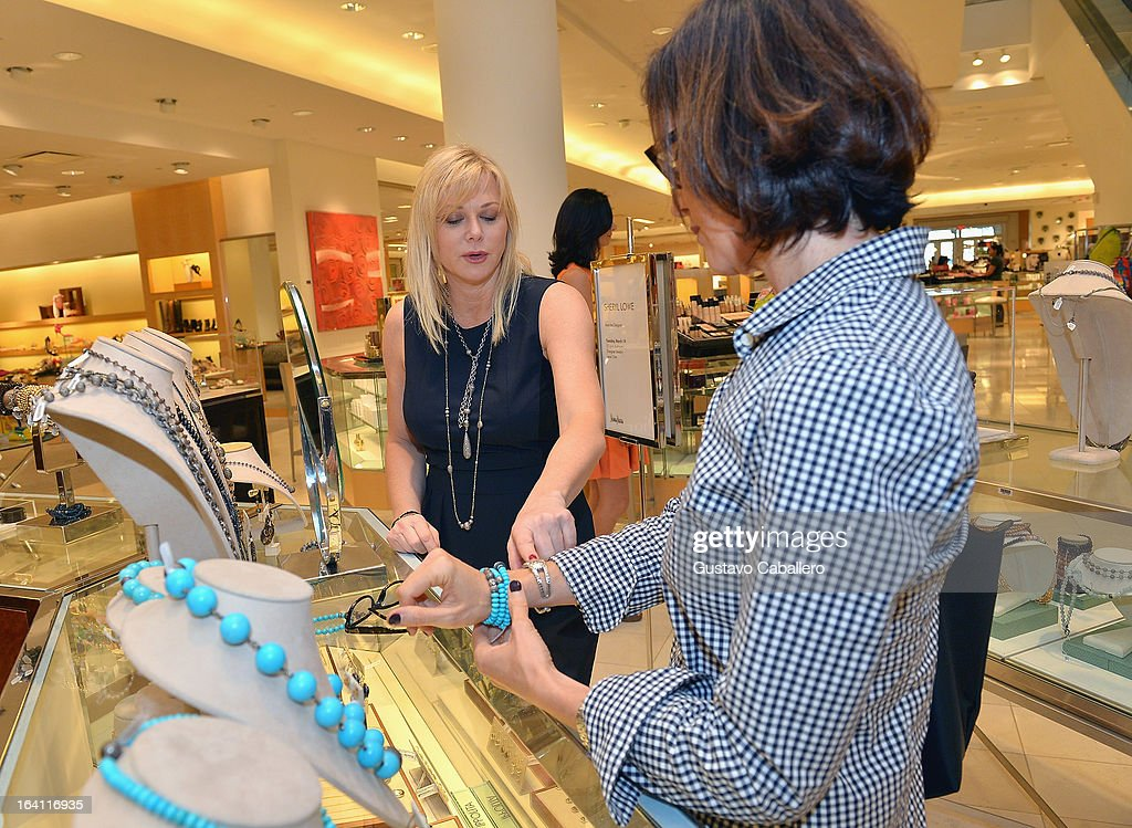 Sheryl Lowe attends the Sheryl Lowe Jewelry Design event with a portion of the proceeds benefiting Best Buddies International at Neiman Marcus on March 19, 2013 in Coral Gables, Florida.