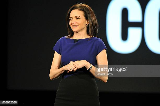 Sheryl Sandberg attends AOL MAKERS Conference at Terranea Resort on February 2 2016 in Rancho Palos Verdes California
