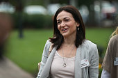 Sheryl Sandberg chief operating officer of Facebook Inc attends the Allen Company Sun Valley Conference on July 8 2015 in Sun Valley Idaho Many of...