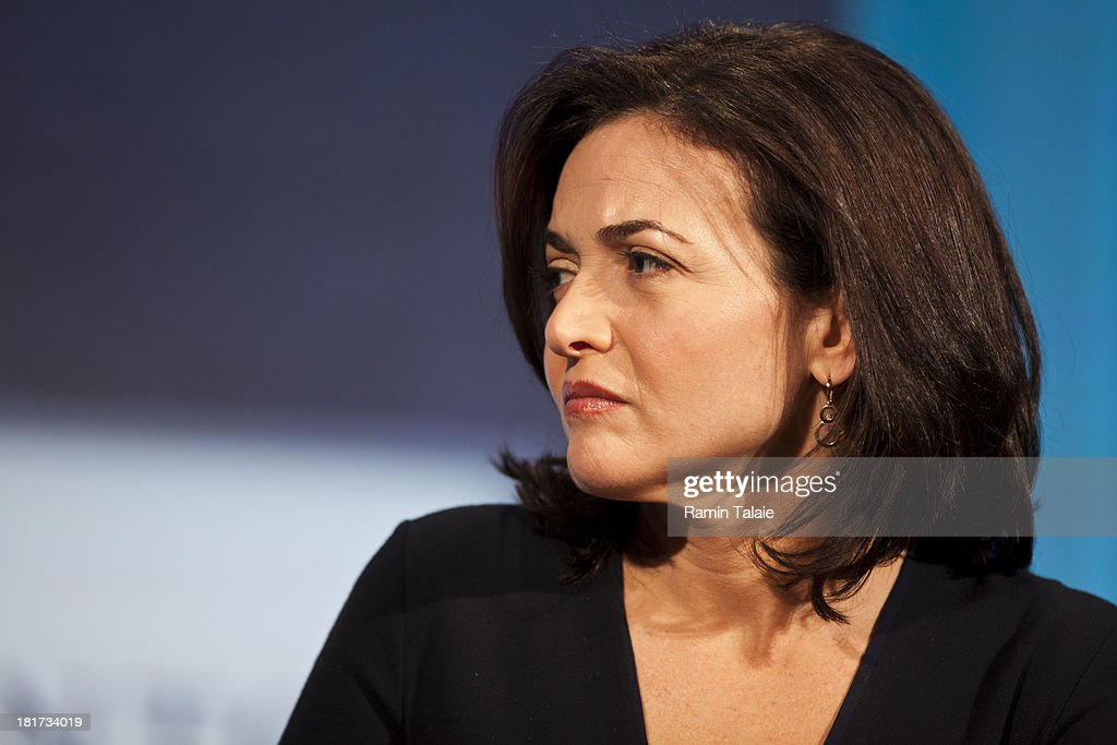 Sheryl Sandberg, COO of Facebook during a panel discussion at the Clinton Global Initiative (CGI) meeting on September 24, 2013 in New York City. Timed to coincide with the United Nations General Assembly, CGI brings together heads of state, CEOs, philanthropists and others to help find solutions to the world's major problems.
