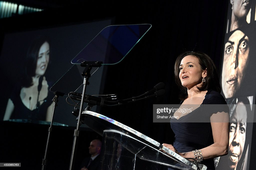 <a gi-track='captionPersonalityLinkClicked' href=/galleries/search?phrase=Sheryl+Sandberg&family=editorial&specificpeople=5922850 ng-click='$event.stopPropagation()'>Sheryl Sandberg</a>, Facebook Chief Operating Officer onstage at the Women for Women 20th Anniversary Gala celebration at the American Museum of Natural History on December 3, 2013 in New York City.