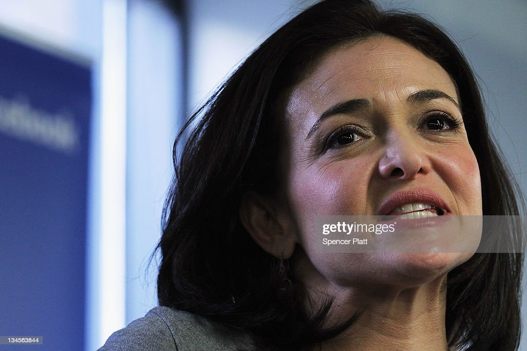 <a gi-track='captionPersonalityLinkClicked' href=/galleries/search?phrase=Sheryl+Sandberg&family=editorial&specificpeople=5922850 ng-click='$event.stopPropagation()'>Sheryl Sandberg</a>, Facebook's chief operating officer, speaks on December 2, 2011 in New York City. Facebook will be opening a center for engineers in New York City in 2012. Facebook, the world's largest social networking company, is expected to file for an IPO in April, and a public offering could reach a valuation of up to $100 billion and raise $10 billion.