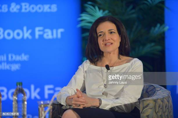 Sheryl Sandberg in conversation with Ana VecianaSuarez about her new book 'Option B Facing Adversity Building Resilience and Finding Joy' presented...
