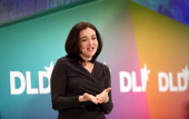 Sheryl Sandberg of Facebook delivers a keynote during the Digital Life Design conference at HVB Forum on January 24 2012 in Munich Germany ence and...