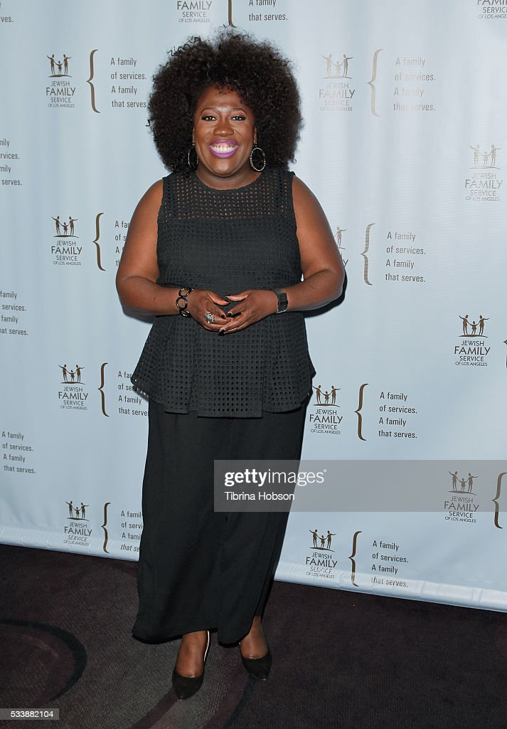 Sheryl Underwood attends the Jewish Family Service of Los Angeles 23rd Annual Gala Dinner at The Beverly Hilton Hotel on May 23, 2016 in Beverly Hills, California.