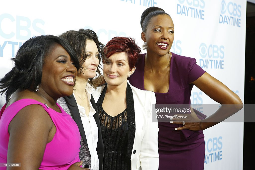 Sheryl Underwood, Sara Gilbert, Sharon Osbourne and Aisha Tyler of CBS Daytime's THE TALK attend The 41st Annual Daytime Emmy® Awards in Los Angeles on Sunday, June 22.