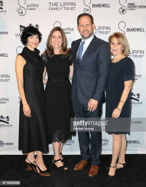 Sheryl Wachtel Honoree Carolyn Bernstein the Executive VP Head of Global Scripted Development and Production National Geographic Honoree Nick Grad...