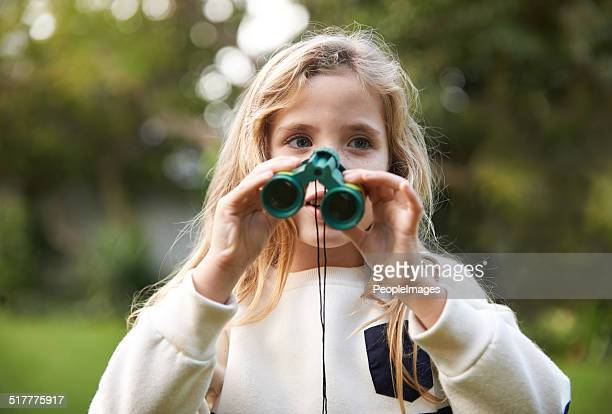 She's a budding ornithologist