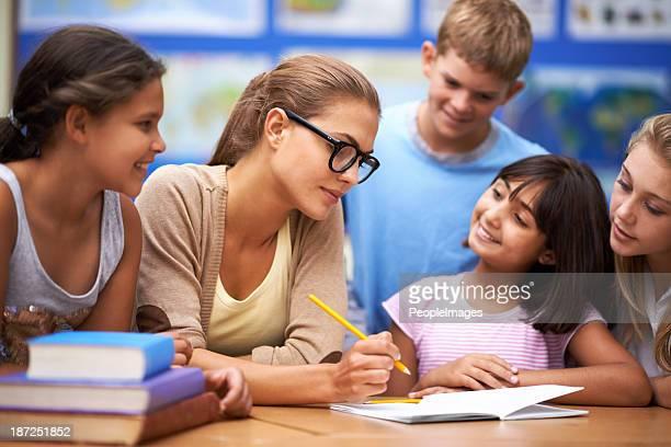 She's a good teacher