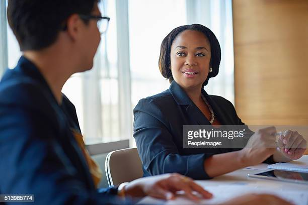 She's a great asset to the company