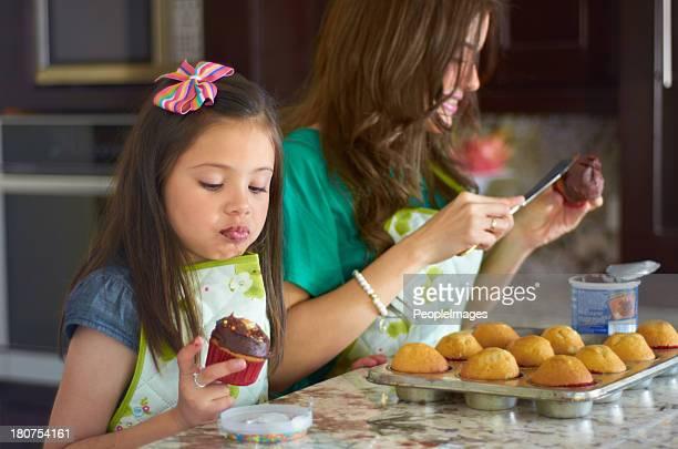 Elle est un peu de baker !