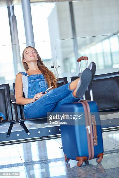 She's a laid-back traveler