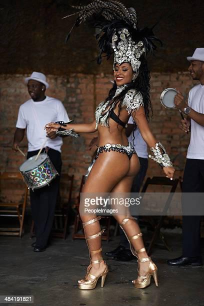 She's a samba goddess