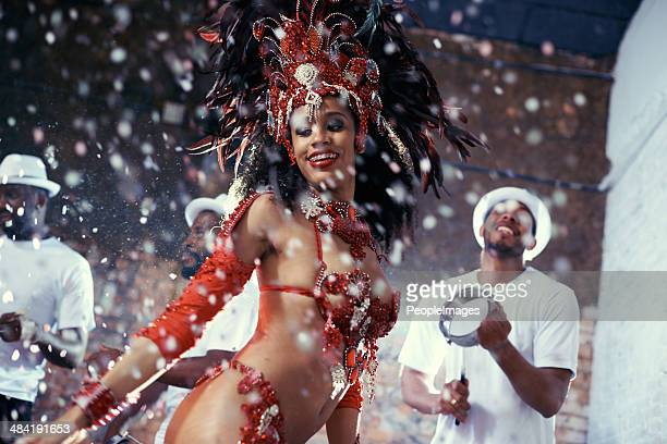 She's a scintillating samba queen
