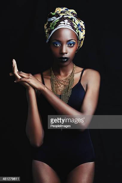 Sie ist eine echte Königin von Afrika