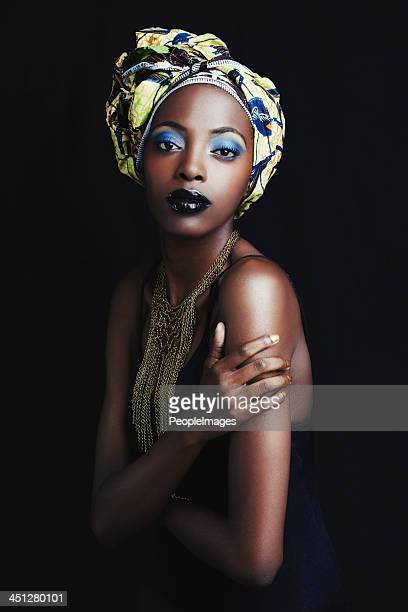 She's a true symbol of african beauty