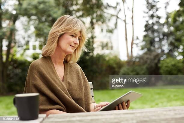 She's an avid ebook reader
