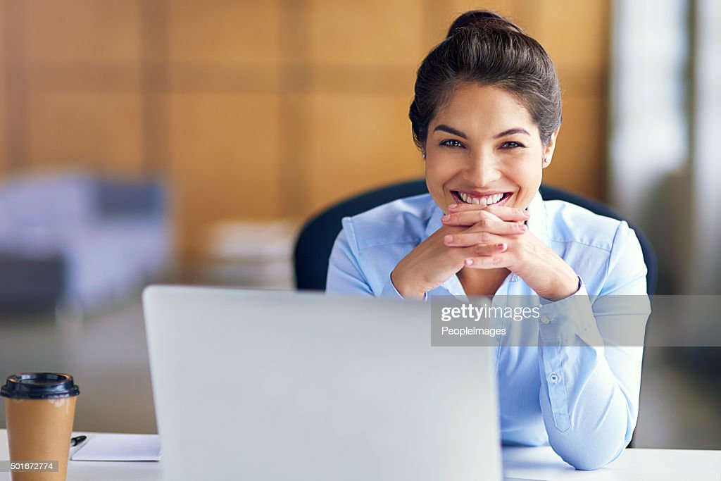 She's at the top of her game : Stock Photo