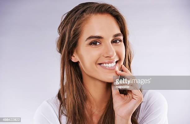 She's beauty au natural