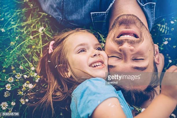 She's daddy's little girl