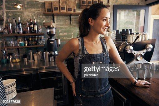Ela encontrou o segredo para café sucesso