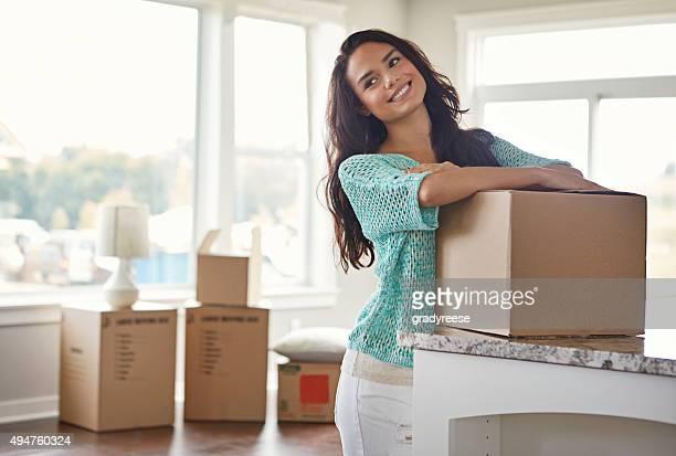Sie hat große Träume für Ihr neues Zuhause