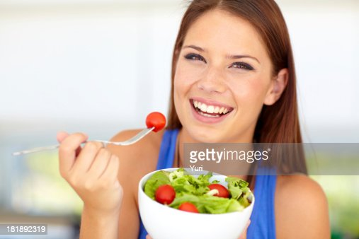 She's made the healthy choice!