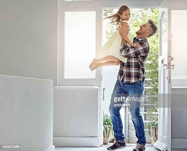 È il cloud nine quando papà diventa casa