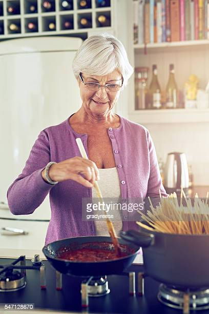 She's still the best cook in the family