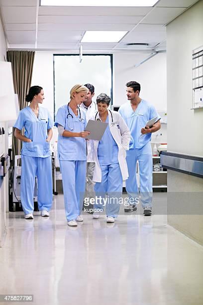 She's their medical mentor