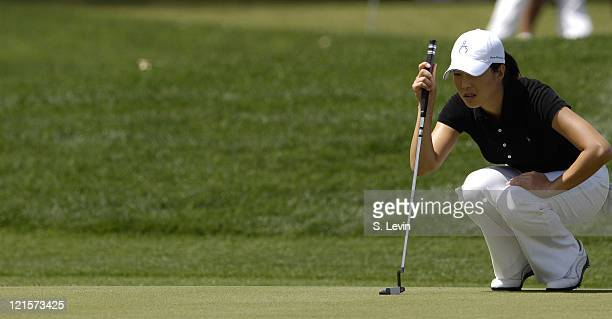 Shi Hyun Ahn during third round action at the Kraft Nabisco Championship at The Mission Hills Country Club in Rancho Mirage California on Saturday...