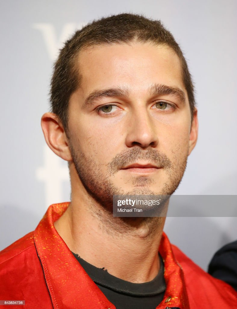 Shia LaBeouf arrives to the 'Borg/McEnroe' photo call - 2017 TIFF - Premieres, Photo Calls and Press Conferences held during the 2017 Toronto International Film Festival on September 7, 2017 in Toronto, Canada.